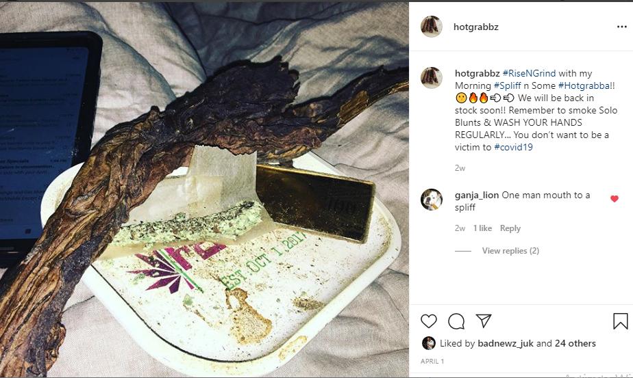 Instagram Hotgrabbz